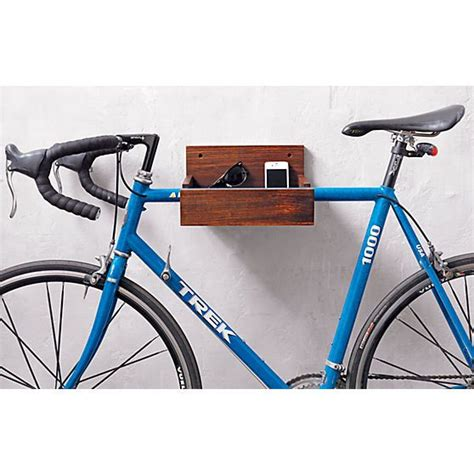 Bike Wall Shelf by Wood Bike Storage