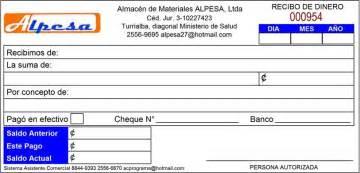 ejemplos de un recibo de dinero asistente comercial recibos de dinero manuales