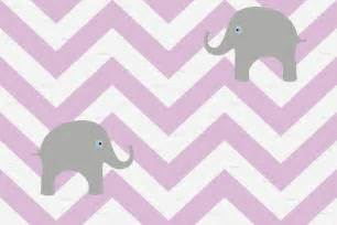 Elephant Baby Bedding Pink Chevron Wallpaper Wallpapersafari