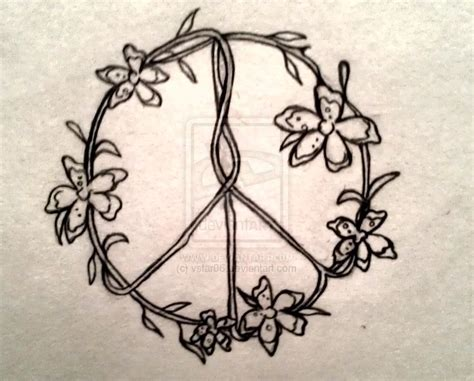 peace sign tattoo design 25 best ideas about hippie tattoos on hippie