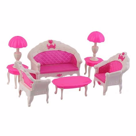 toy story sofa chair 8pcs toys barbie doll sofa chair couch desk l furniture