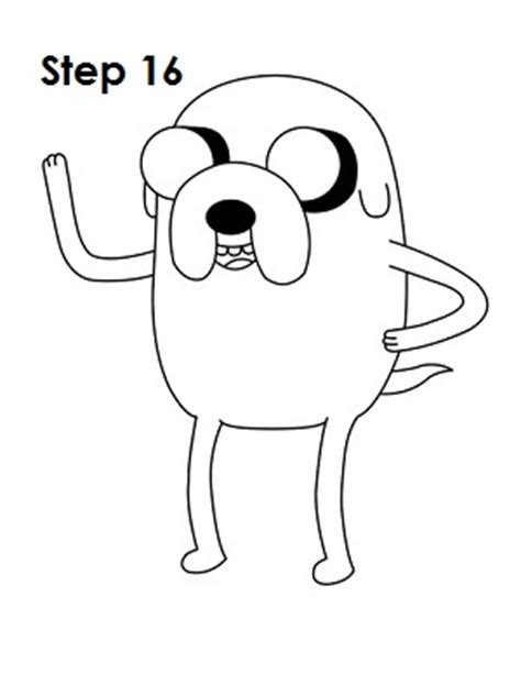 how to draw jake adventure time