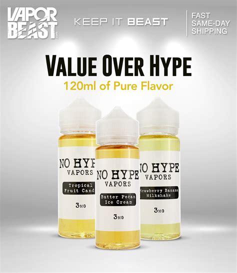 Hype Premium E Liquid Vapor Vape Vaporizer Rasa Lengkap 3mg No Hype Eliquid Beast
