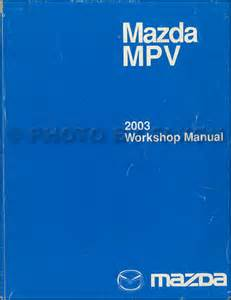mazda mpv shop manual anupload