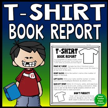 t shirt book report t shirt book report students to decorate a t shirt