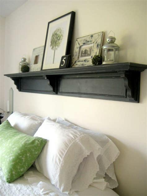 schlafzimmerwand regal schlafzimmerwand gestalten kreative dekoideen