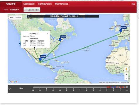 maps console storagenewsletter 187 panzura cloudfs ui console 171