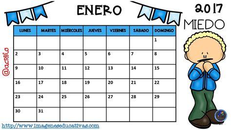 imagenes educativas calendario 2017 calendario 2017 para trabajar las emociones 8