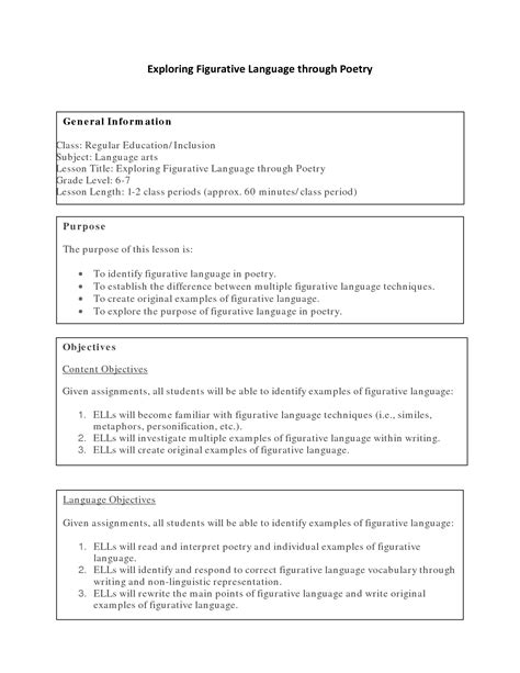 printable lesson plans for 5th grade free printable language arts worksheets for high school