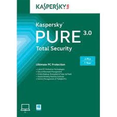 Kaspersky Security 3 User kaspersky 3 0 total security 3 user 1 year electronic software ebuyer