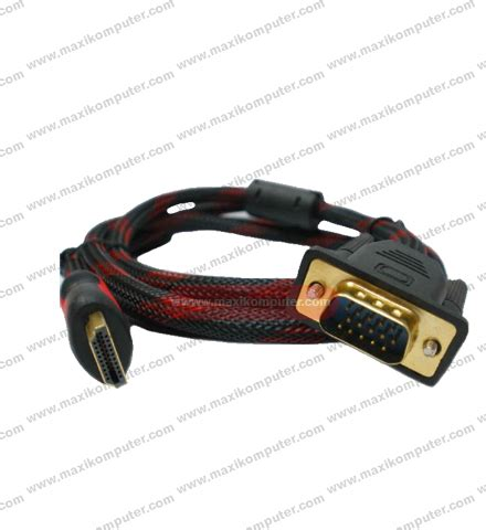 Kabel Vga To Vga 5m kabel hdmi to vga 1 5m