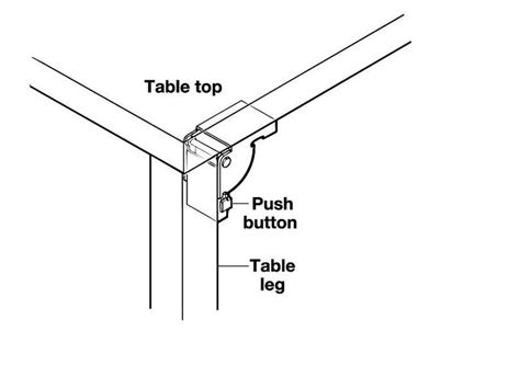 folding table leg brackets best 25 table leg brackets ideas on folding