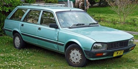peugeot green peugeot 505 review and photos