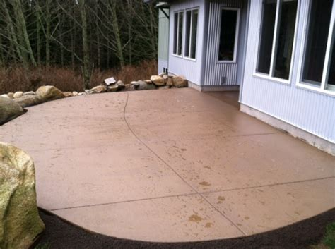 colored concrete patio add a splash of color with concrete custom concrete
