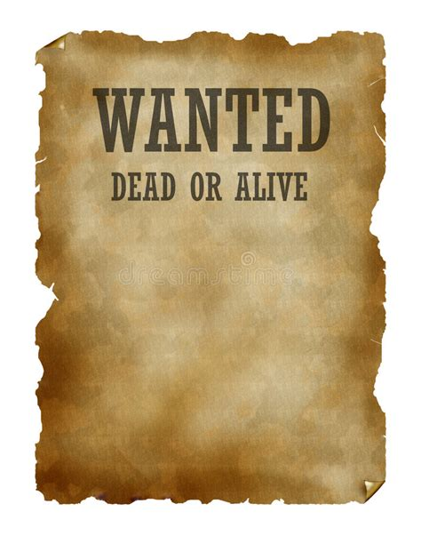 tutorial wanted dead or alive wanted dead or alive stock illustration illustration of
