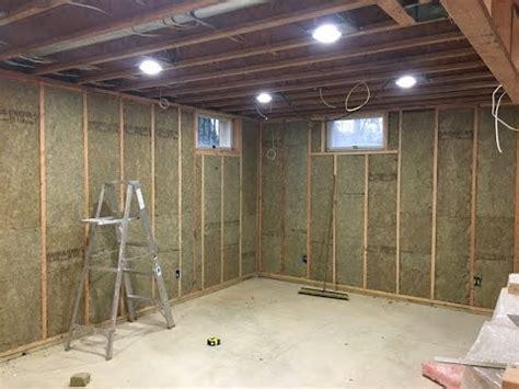 Smart Ideas Insulating Basement Wall Finishing My Basement Roxul Insulation And Ready For