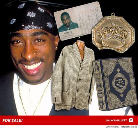Tupac Shakur Memorabilia Auction Still A Go Despite Lawsuit Threats by Estate (PHOTO GALLERY