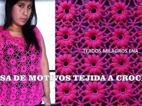 blusa rosada tejida con motivos a crochet paso a paso tejidos milagros ena ganchillo como tejer a ganchillo crochet mariposas en