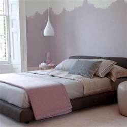 nice bedroom colors soft purple wall paint color and elegant platform bed for