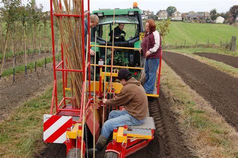 Tree Planter Machine by Tree Planting At Beardsworths Nurseries And Garden Centre