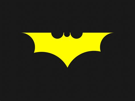 Colors That Go With Yellow by Dribbble Batman Logo Final By Alberto Garc 237 A Cabeza