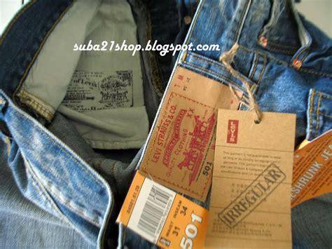 Harga Celana Levis Yang Asli suba21shop cara mudah membedakan celana levi s