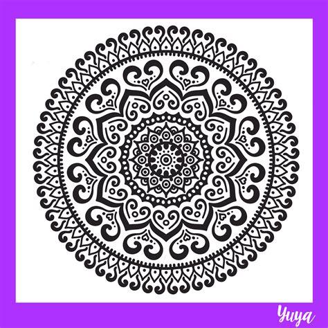 imagenes como hacer mandalas dibujando mandalas yuya