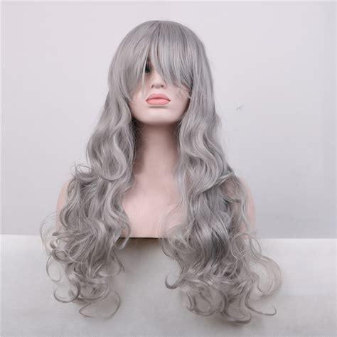 get cheap grey hair wig aliexpress alibaba