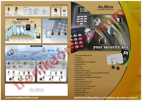Alarm Albox albox access catalog brochure