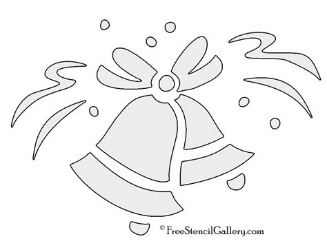 Wedding Bell Stencil by Wedding Bells Stencil Free Stencil Gallery