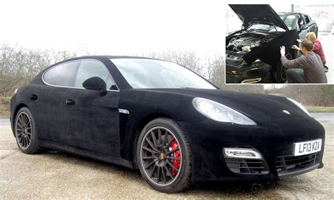 porsche velvet the 163 100k porsche panamera wrapped in velvet daily mail