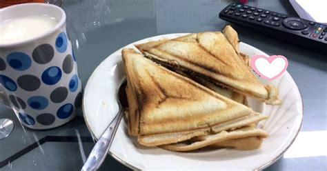 Gambar Dan Panggangan Roti resep roti bakar coklat keju dan putih hangat menu