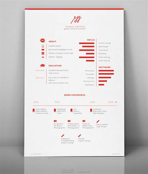 Creative Resume Design by 5 Creative Resume Designs That Will Make Recruiters Look