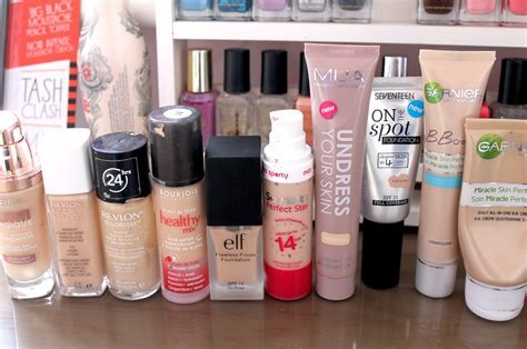 Top 10 Drugstore Foundations
