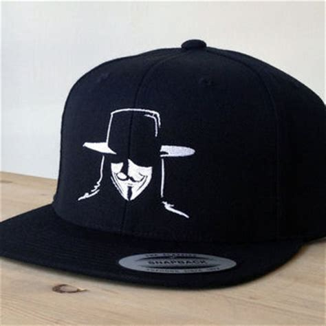 Topi Snapback Things snapback vendetta hat with custom from snappp on etsy