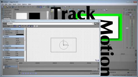 vegas pro track motion tutorial sony vegas move scale with track motion youtube