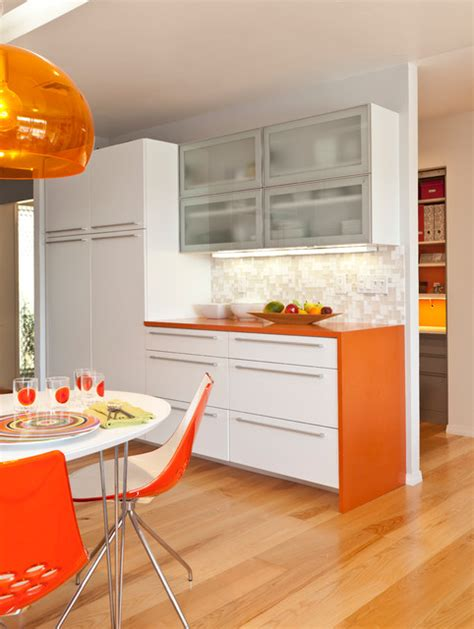 Mid Century Modern Countertops by Colorful Mid Century Modern Residence Midcentury