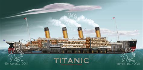 Titanic Section by Editorial Advertising Max Ellis Photography