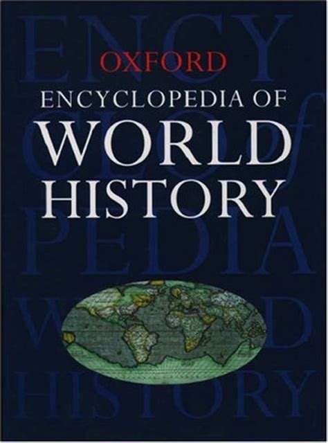 history book in encyclopedia of world history by oxford press