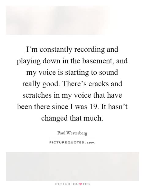 I Voices In My Specificly There Are T by I M Constantly Recording And In The Basement