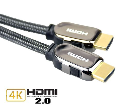 Kabel Hdmi To Hdmi Od73mm Gold Plated 4k 3m 1 Hdmi Cable 2 0 Hdr Gold Plated Hdtv 1080p 3d 4k Ultra Hd