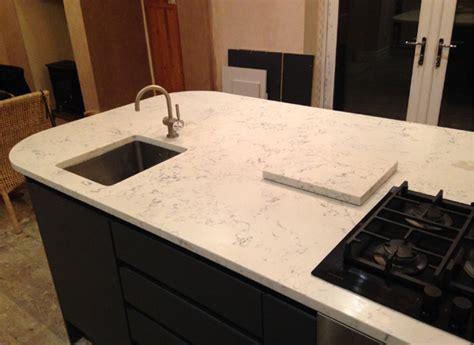 Size Of Kitchen Island angelo white quartz worktops nostalgia