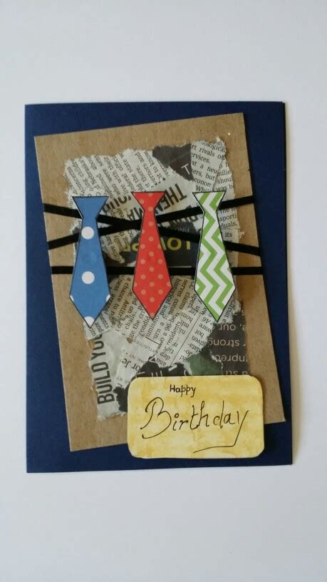Handmade Birthday Cards For Him - handmade birthday card for him make it for your