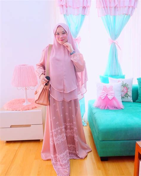 Gamis Syari Remaja 2018 18 Model Baju Muslim Modern 2018 Desain Casual Simple Modis