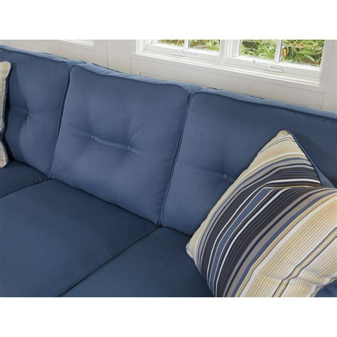 aldie nuvella sofa chaise sleeper benchcraft aldie nuvella 6870368 queen sofa chaise sleeper