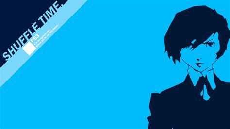 blue persona html blue persona series persona 3 simple background arisato