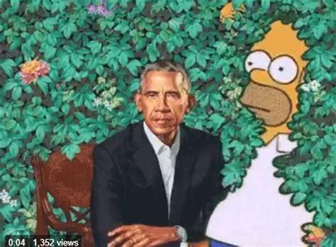 sean spicer obama portrait americans mock obama portrait with side splitting memes