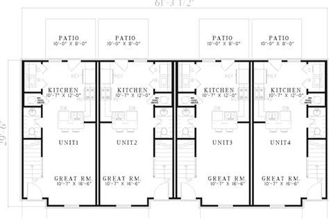 fourplex floor plans fourplex house plans numberedtype