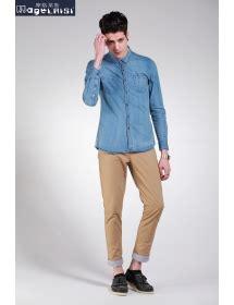 Kemeja Denim Lengan Pendek jual fashion pakaian celana pendek kemeja kaos pria