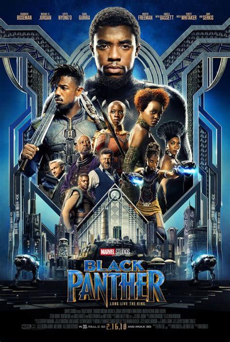 marvel film kino marvels black panther trailer und poster zum neuen